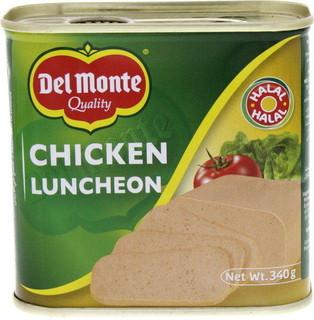 Delmonte Del Monte Chicken Luncheon 340 Gm