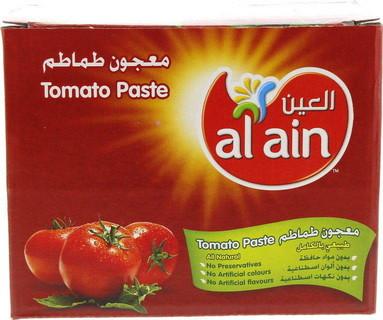 Al Ain Tomato Paste Pouch 25 X 70 Gm