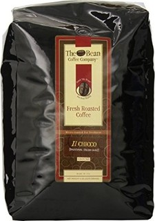The Bean Coffee Company, Il Chicco (Traditional Italian Roast) Ground Coffee, 5-Pound Bags