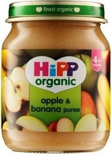 HiPP Organic Apple & Banana Puree (125 grams)