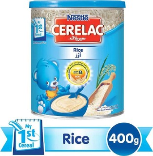 Nestl CERELAC Rice with Milk Infant Cereal Tin 400g