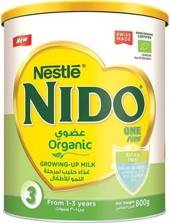 Nestl NIDO One Plus Organic Growing up Milk Powder 800g Tin