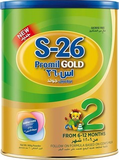 S-26 S26 PROMIL GOLD Stage 2,Premium Follow On Formula for Babies Tin 900g with Biofactors System