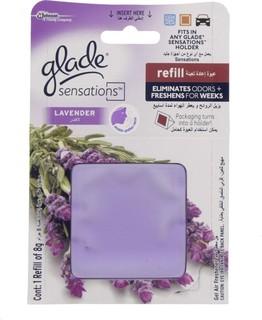 Glade Sensation Lavender Gel Air Freshener 8 Gm