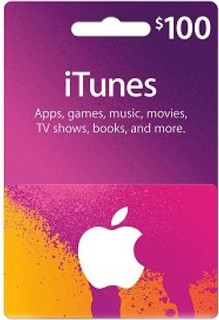 Apple iTunes Card 100 USD