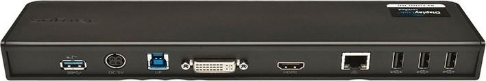Targus USB 3.0 Video Docking Station (Dual Video) HDMI DVI GbLan USB3.0 - ACP70EU 890
