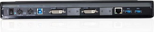 Targus Universal USB 3.0 DV2K Docking Station with Power - ACP77EUZ 1200