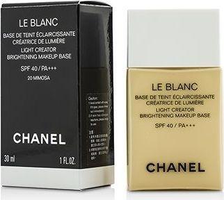 Chanel Le Blanc Light Creator Brightening Makeup Base SPF40