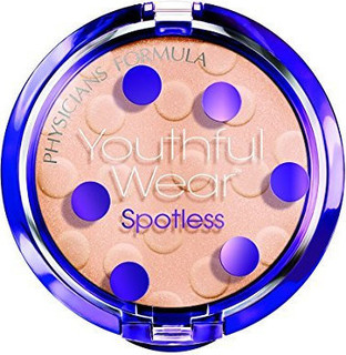 Physicians Formula Youthful Wear Cosmeceutical Youth-Boosting Spotless Powder SPF 15, Translucent, 0.33 Ounce