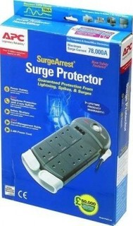 APC Home Office Surge Arrest 6 outlets Protection 230V UK | PH6T3