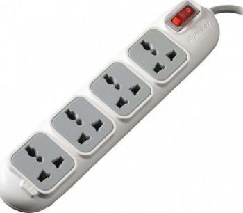 Huntkey 5M cable, 4 Sockets, 3 pin UK Plug - PSPZD4015MHK