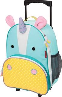 SkipHop - Zoo Kids Rolling Luggage - Unicorn