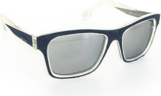 Diesel Unisex Sunglasses Crystal Jeans - DL0071-27C