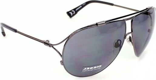 Diesel Unisex Sunglasses Dark Gray - DL0017-08N 645