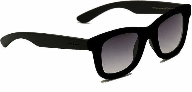 Italia Independent Unisex Sunglasses Velvet Black - 090V-009 525