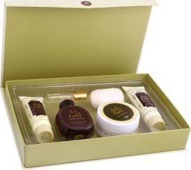 Sheikh Al Oud Gift Set (EDP 100ml& 20ml, Powder, Body Lotion 100ml, Soap & Shower Gel 100ml)