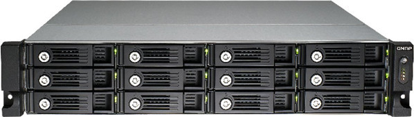 Qnap 12-bay High Performance Unified Storage (TVS-1271U-RP-i5-16G-US)