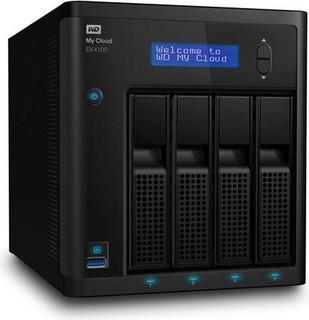 Western Digital 16TB My Cloud EX4100 4 BAY NAS WDBWZE0160KBK-EESN