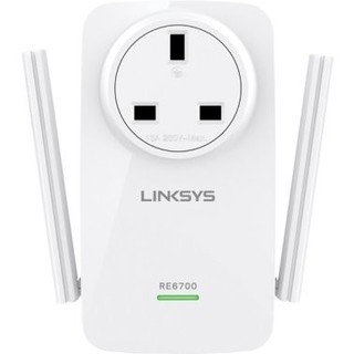 Linksys AC1200 Amplify Dual Band High-Power Wi-Fi Range Extender with Intelligent Spot Finder Technology