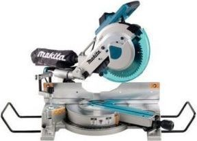 Makita Dual Slide Compound Miter Saw 1510 Watts, Silver and Blue [LS1016]