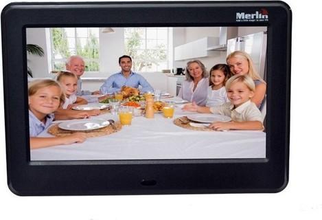 Merlin Digital Photo Frame Black - 9715065167520 189