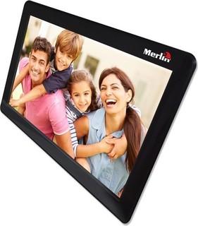 Merlin Wi-Fi Digital Photo Frame Black - 683405363798 595
