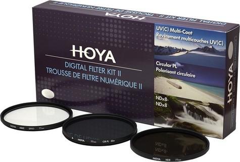 Hoya Filters HOYA 58MM UV + PLC + ND8 KIT