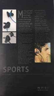 Other AMW-20 Wireless Outdoor Sports Bluetooth 4.1 Headphones
