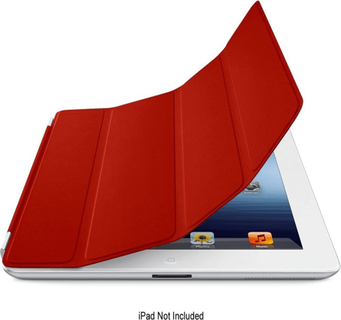 Apple iPad 3 Leather Case Red MD304