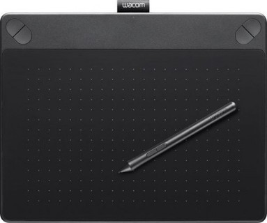 Wacom Intuos Art Pen and Touch Small Tablet Black CTH490AK