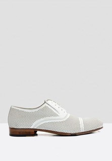 Mario Bruni Leather Formal Lace Up - White