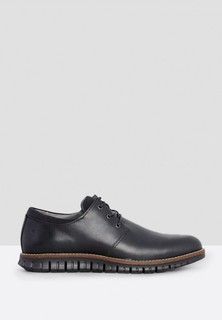 Sledgers Cleated Casual Lace Up - Black