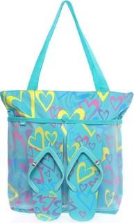 POP Trendy Bag & Slipper Set - Blue