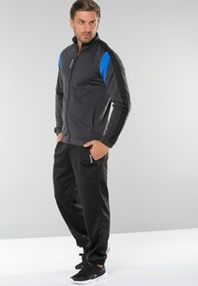 Reebok Sweatshirt Elements Tricot Cuffed Hem Tracksuit - Black