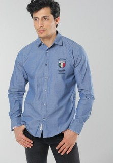 JORINDO Long Sleeve Shirt - Dark Blue