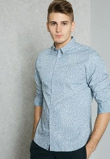 Selected Homme Slim Fit Printed Shirt
