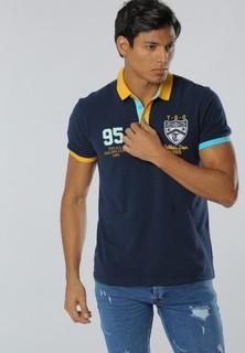 361 Degrees Sports Life Polo Shirt - Dark Blue