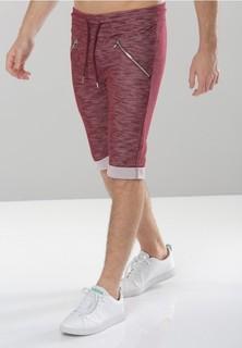 PROJECT X PARIS Project X Paris Cotton Shorts - Burgundy