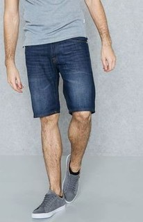 Jack & Jones Rick Dark Wash Denim Shorts