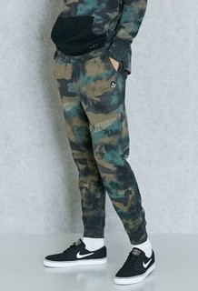 Neff Fletcher Camo Print Sweatpants