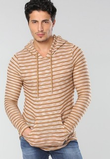 PROJECT X PARIS Striped T-shirt - Beige