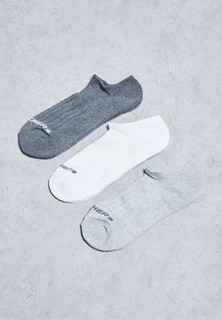 Skechers 3 Pack Invisible Socks