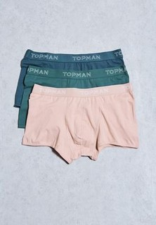 Topman Pack Of 3 Hipster Underwear