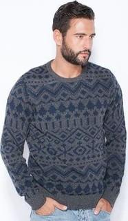 Jack & Jones Aztec Print Sweater
