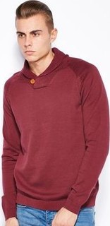 Jack & Jones Baul Shawl Neck Sweater
