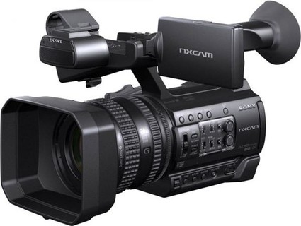 Sony professional NXCAM camcorder HXR NX100