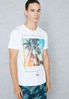 Burton Pacific Coast Print T-Shirt