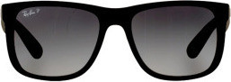 Ray Ban Ray-Ban Polarized Justin Classic Unisex Sunglasses, RB4165 622/T3