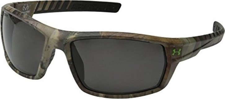 Under Armour Men's Ranger Storm ANSI 8630061-878708 Polarized Sunglasses, Realtree Pattern, 62 mm