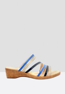 Caprice Classy Casual Leather Sandal - Multicolor